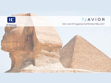 تعقد اتش سى بالتعاون مع شركة Avior Capital Markets أول مؤتمر افتراضي عن فرص الاستثمار في البورصة المصرية